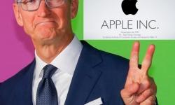 Cook apple logo